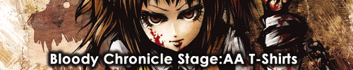 Bloody Chronicle Stage:AA Tシャツ | [kapparecords]
