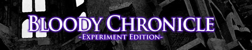 Jill's Project『Bloody Chronicle experiment edition』